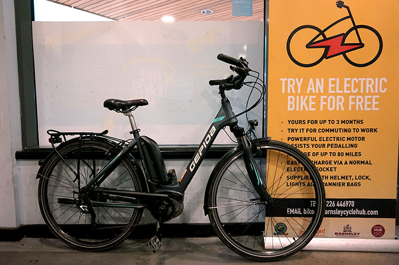 Loan a bike for free from the Barnsley Active Travel hub